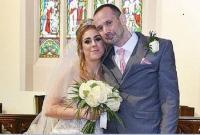 زوجان يعقدان قرانهما استعدادا للزفاف المأساوي (صور)