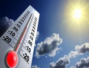 إرتفاع طفيف على درجات الحرارة