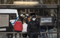 7 متهمين بجريمة ذبح المدرس الفرنسي