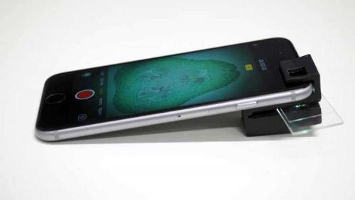 قطعة صغيرة تحول هاتفك إلى مجهر!