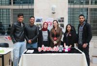"""طلبة إعلام جامعة الشرق الأوسط ينفذون حملة """"كن صديقي"""""""