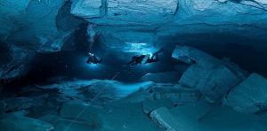 اكتشاف اعمق كهف تحت الماء في العالم