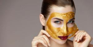الذهب  ..  مفتاح شباب وجمال بشرتكِ