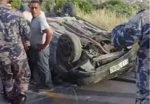 وفاتان و3 اصابات بتدهور مركبة في جرش