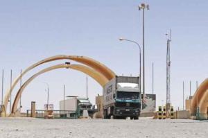 العراق تسمح بدخول الشاحنات الاردنية الى اراضيها