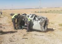 وفاة شخصين وإصابة اثنين بحادث تصادم في المفرق