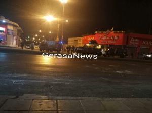 """`ذوو الشاب المتوفى بحادثة السفارة الصهيونية يغلقون """"الشرق الأوسط""""(صور)"""