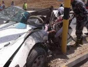 وفاتان و10 إصابات بحادث في المزار الشمالي