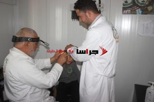العيادات التخصصية السعودية تعالج 2477 حالة مرضية بالزعتري (صور)