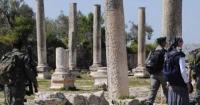 الإحتلال يغلق المنطقة الأثرية في سبسطية
