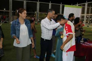 اختتام دوري مهاراتي لكرة القدم في اربد