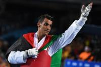 لاعب المنتخب أبو غوش يحصد الفضية ببطولة العالم للتايكواندو