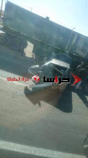 اصابات بحادث مروع على طريق معان الحسينية (صور)