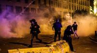 45 إصابة بمواجهات بين المحتجين والأمن في بيروت