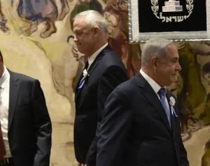 نتنياهو يدعو غانتس لتشكيل حكومة وحدة وطنية ..  والأخير متمسك بالرئاسة