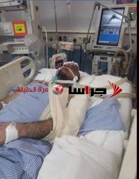 أمام الديوان الملكي  ..  أردني بحاجة ماسة للإخلاء لتكملة علاجه بالأردن (صور)
