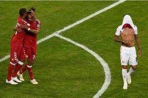 """الدنمارك تتغلب على البيرو """" 1-0"""""""