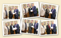 """رئيس """"عمان العربية"""" يكرم نخبة من أعضاء هيئة التدريس"""