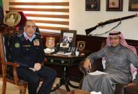 الحمود يلتقي نائب رئيس بعثة السفارة السعودية في عمان