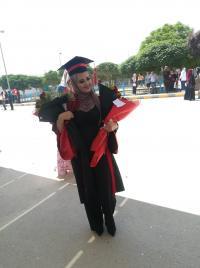 تهنئة لـ نسرين القيسي بمناسبة التخرج