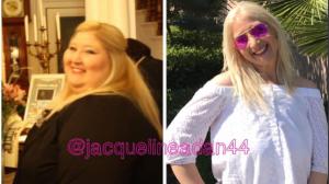 ضحك الغرباء جعلها تفقد نصف وزنها ! (صور)
