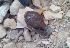العثور على قنبلة قديمة في الجيزة