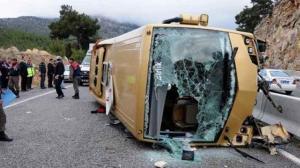 11 قتيلا و 44 جريحا بحادث حافلة في تركيا