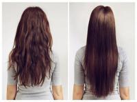 طريقة طبيعية لفرد الشعر