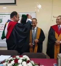 الدكتوراه بامتياز لـ محمد صالح الرحامنة