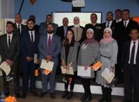 تكريم الفائزين بمسابقة طلاب الجامعات الأردنية في الطاقة المتجددة