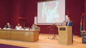 رئيس الجامعة الهاشمية يفتتح الندوة العلمية الإعلامية