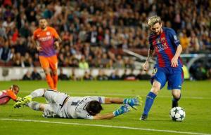 برشلونة يكرم جوارديولا والسيتي برباعية