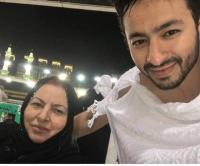 بالصور  ..  وفاة والدة الفنان حمادة هلال