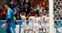 إسبانيا تضرب إيران وتتقاسم الصدارة مع البرتغال