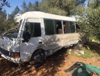 7 اصابات بحادث تصادم في مادبا (صور)
