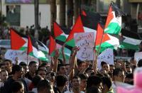عشرات الاصابات خلال قمع الاحتلال لمسيرة كفرقدوم