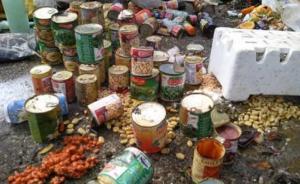 إتلاف 1800 كلغم مواد غذائية فاسدة في مأدبا