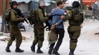 الاحتلال يعتقل 15 فلسطينيا