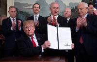 ترامب سيتخذ قراره بشأن مخططات الضم الصهيونية خلال شهر ونصف
