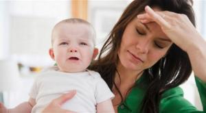 العصبية بعد الولادة ..  علام تدل؟