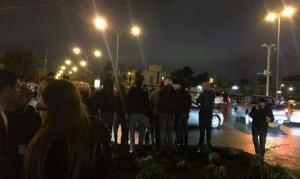 لليوم الخامس ..  استمرار الاحتجاجات امام السفارة الامريكية في عمان