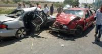 9 اصابات بحادثي تصادم في عمان والبلقاء