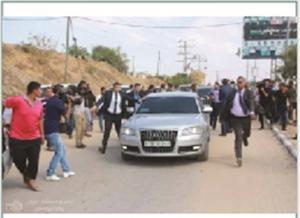 الحكومة : صورة موكب أمين عمان مفبركة