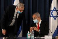 """إلغاء جلسة حكومة الإحتلال إثر خلافات بين الليكود و""""أزرق أبيض"""""""