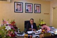 د. أحمد المصري يهنىء د. نايل العدوان برئاسة جمعية الطب النفسي