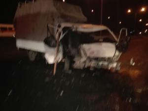 4 اصابات بحادثين منفصلين على طريق المطار (صور)