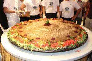 """الاردن يتفوق بالطعام في """"غينيس"""" (صور)"""