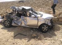 9 إصابات بحادث تصادم في الكرك