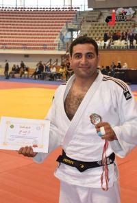 لاعب جودو أردني يلغي مباراته مع لاعب صهيوني (صور)
