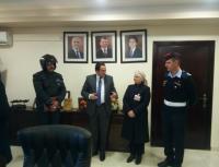 رئيس اقليم البترا يكرم الرقيب التميمي والعريف القطيمات